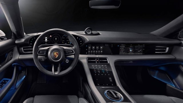 """It's the first Porsche with no leather on the interior, too. Innovative recycled materials are used instead"""